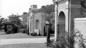 West Gate (Sunset Gate) of Bel Air, late 40s