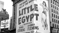Marquees of the Mayfair theatre, 1951