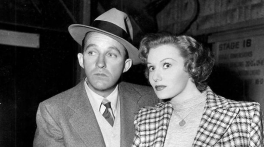 With Bing Crosby