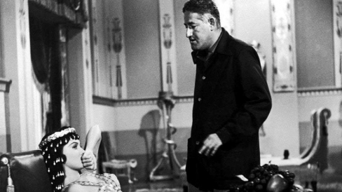 With director William Castle.