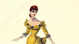 Custume design for Rhonda Fleming by Edith Head