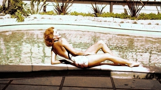 At the pool, by Peter Basch