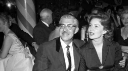 With longtime pursuer, shoe tycoon and millionaire Harry Karl, June 6, 1955 (seen with her 1955, 1958 and 1959)