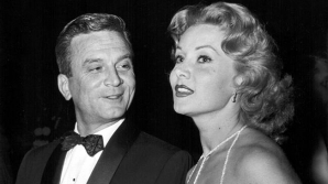 With producer James Hill at the premiere of HIGH SOCIETY, Los Angeles, July 17, 1956 (seen with her from July 1956 untill Oct. 1956)