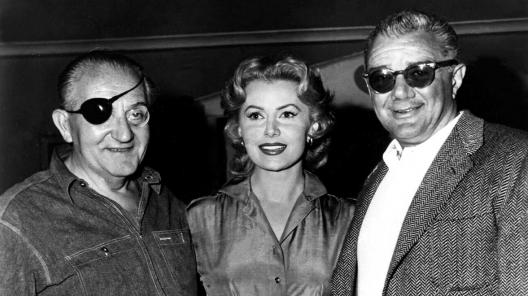 With director Fritz Lang and producer Bert E. Friedlob