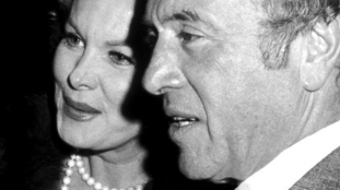 With her fifth husband, theatre chain owner and millionaire Ted Mann, Nov. 1974 (married March 11, 1978; untill his death on Jan. 15, 2001)