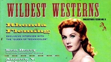 US magazine, Rhonda Fleming special issue